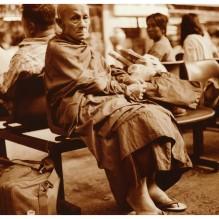 PHOTO GARE BKK hua lamphong / THE MONK