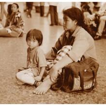 Mother & kid in BKK