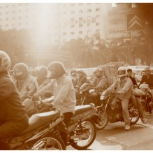 PHOTO GARE BKK hua lamphong / THE MOTORCYCLES