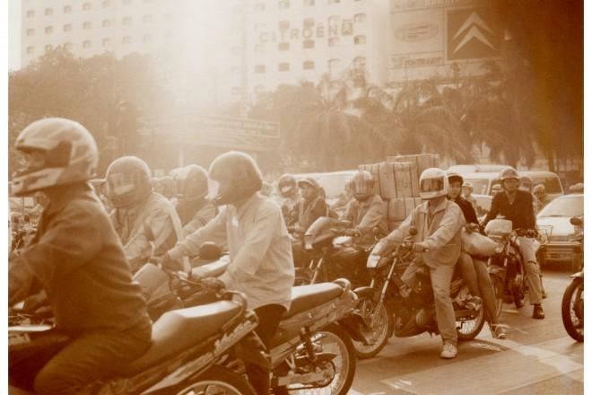 PHOTO GARE BKK hua lamphong / THE MOTORCYCLES