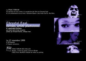 1999 FLYER FNAC FORUM
