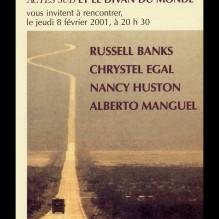 2001 SOIREES DES AMERIQUES ACTES SUD affiche