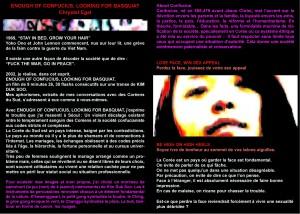 2003 ENOUGH Catalogue Lieu Unique cover p1-2