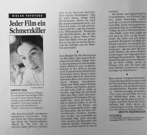 1999 Der Bund 21 SEPT BRIGITTA NIEDERHAUSER
