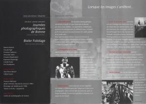 1999 PROGRAMME BIENNE