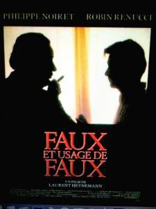 1990 AFFICHE FAUX